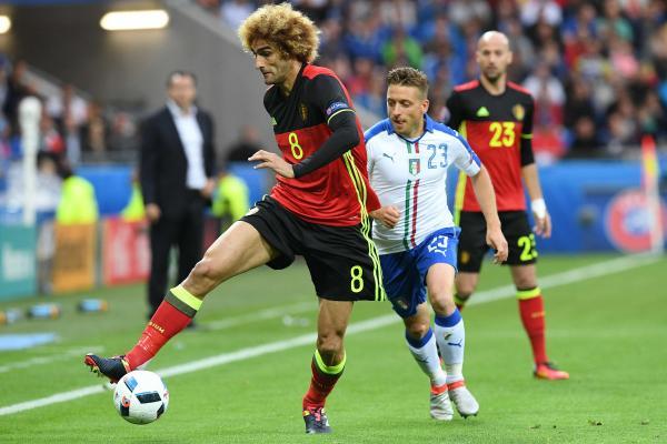 Les maillots de foot Belgique Euro 2016