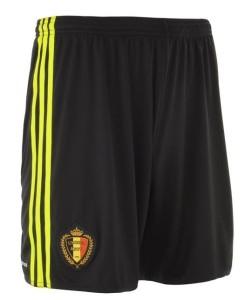 Belgique Euro 2016 short domicile football