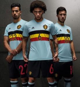 Belgique Euro 2016 tenue de foot exterieure
