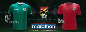 Bolivie Copa America 2016 Centenario maillots de football