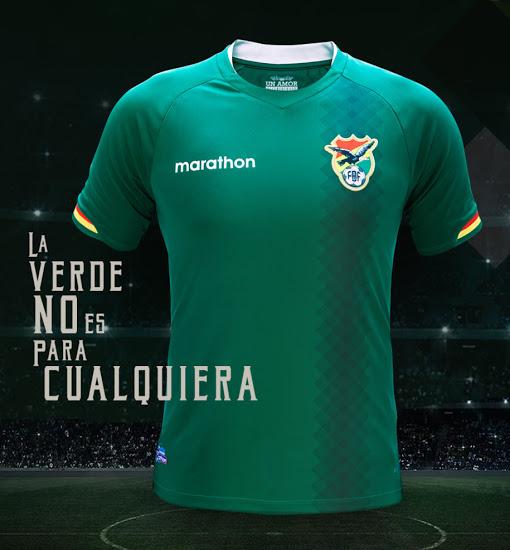 Les nouveaux maillots de la Bolivie Copa America 2016