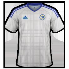 Bosnie Euro 2016 maillot exterieur Bosnie Herzegovine football