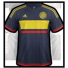 Colombie Copa America 2016 maillot exterieur