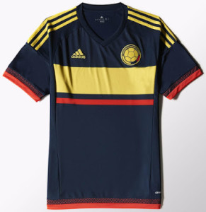 Colombie Copa America Centenario maillot exterieur Adidas