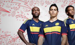 Colombie Copa America Centenario maillot exterieur foot