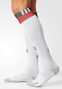 Danemark Euro 2016 chaussettes de foot exterieures away