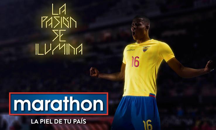 Nouveaux maillots de football Equateur 2015 2016