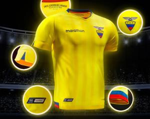 Equateur Copa America 2016 maillot de foot domicile