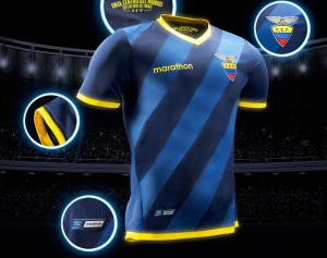 Equateur Copa America 2016 maillot de foot exterieur