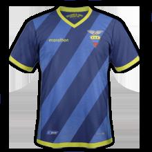 Equateur Copa America 2016 maillot exterieur de foot