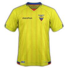 Equateur Copa America 2016 maillot football domicile