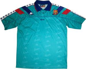 FC Barcelone 1992 1994 maillot exterieur
