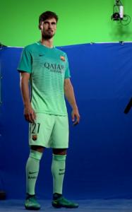 FC Barcelone 2016 2017 troisieme maillot third ligue des champions