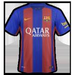 FC Barcelone 2017 maillot domicile 2016 2017