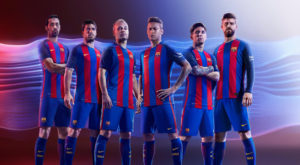 FC Barcelone 2017 maillot domicile football 16-17