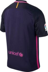 FC Barcelone 2017 maillot exterieur Nike officiel dos