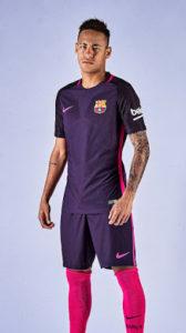 FC Barcelone 2017 maillot exterieur foot Neymar