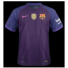 FC Barcelone 2017 maillot exterieur football 2016 2017