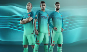FC Barcelone 2017 maillot third officiel Nike