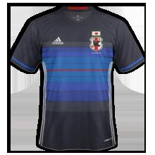 Japon 2016 maillot de foot domicile