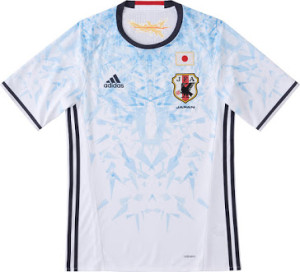 Japon 2016 maillot de football exterieur