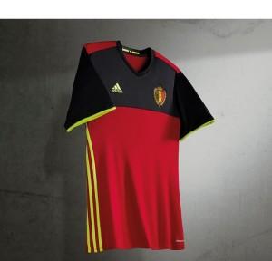 Nouveau maillot Belgique Euro 2016 Adidas