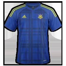 Ukraine 2016 maillot exterieur Euro 2016