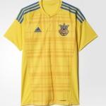 Ukraine Euro 2016 maillot football domicile