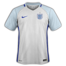Angleterre Euro 2016 maillot de foot domicile