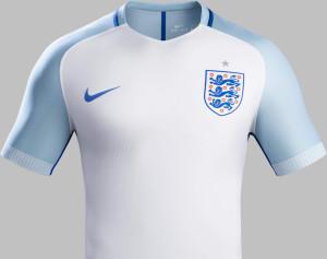 Angleterre Euro 2016 maillot domicile de foot