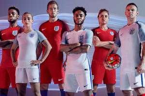 Angleterre Euro 2016 maillots football Nike