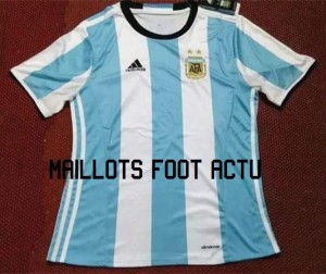 Argentine 2016 maillot domicile football