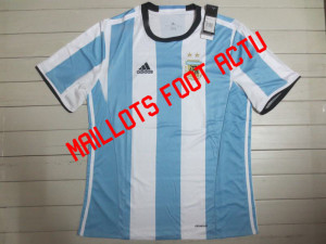 Argentine 2016 maillot foot domicile