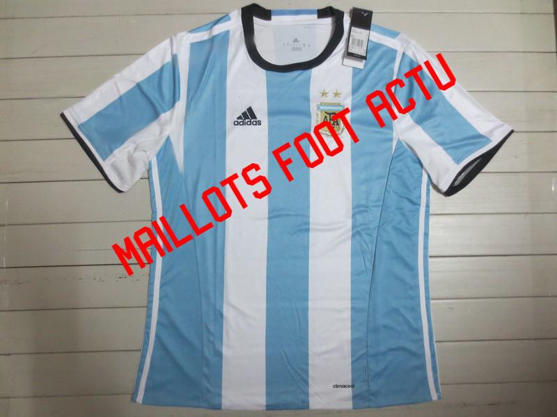 Nouveau maillot domicile Argentine 2016