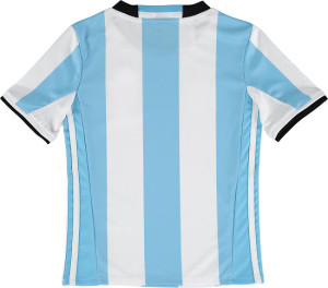 Argentine dos maillot domicile 2016