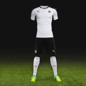 Autriche Euro 2016 maillot exterieur foot Puma