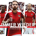 Autriche Euro 2016 maillot officiel football Puma