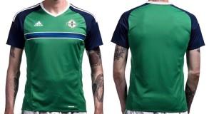Irlande du Nord Euro 2016 maillot domicile football