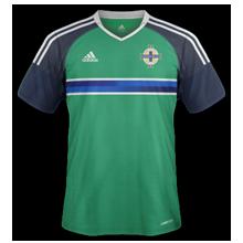 Irlande du Nord Euro 2016 maillot domicile