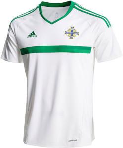 Irlande du Nord Euro 2016 maillot exterieur Adidas