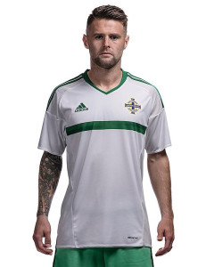 Irlande du Nord Euro 2016 maillot exterieur de face photo