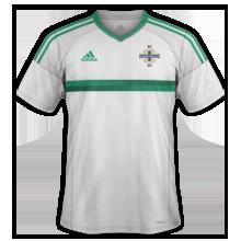 Irlande du Nord Euro 2016 maillot exterieur
