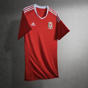 Pays De Galles Euro 2016 maillot de foot domicile Adidas