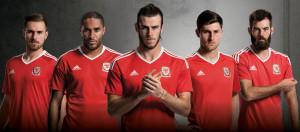 Pays De Galles Euro 2016 maillot domicile Adidas