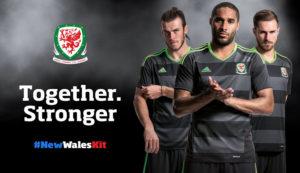Pays De Galles Euro 2016 maillot exterieur football