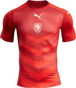 Republique Tcheque Euro 2016 maillot de foot domicile