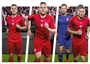 Republique Tcheque Euro 2016 maillot de foot officiel