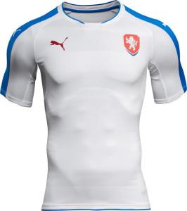 Republique Tcheque Euro 2016 maillot exterieur