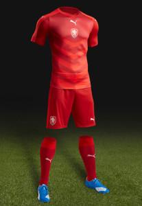 Republique Tcheque Euro 2016 tenue de football domicile
