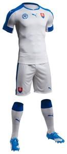 Slovaquie Euro 2016 maillot domicile Puma
